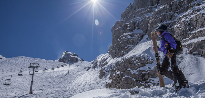 La Clusaz - chair lift view